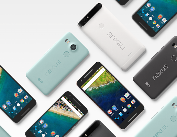 Here Are The New Google LG Nexus5X and Huawei Nexus 6P