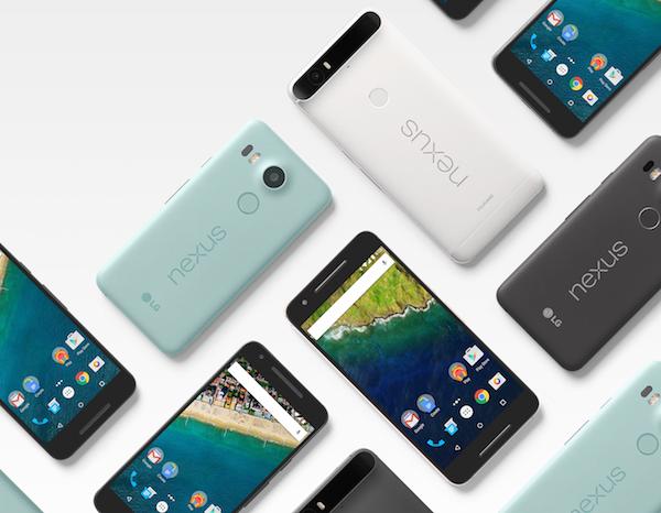 Here Are The New Google LG Nexus 5X and Huawei Nexus 6P ...