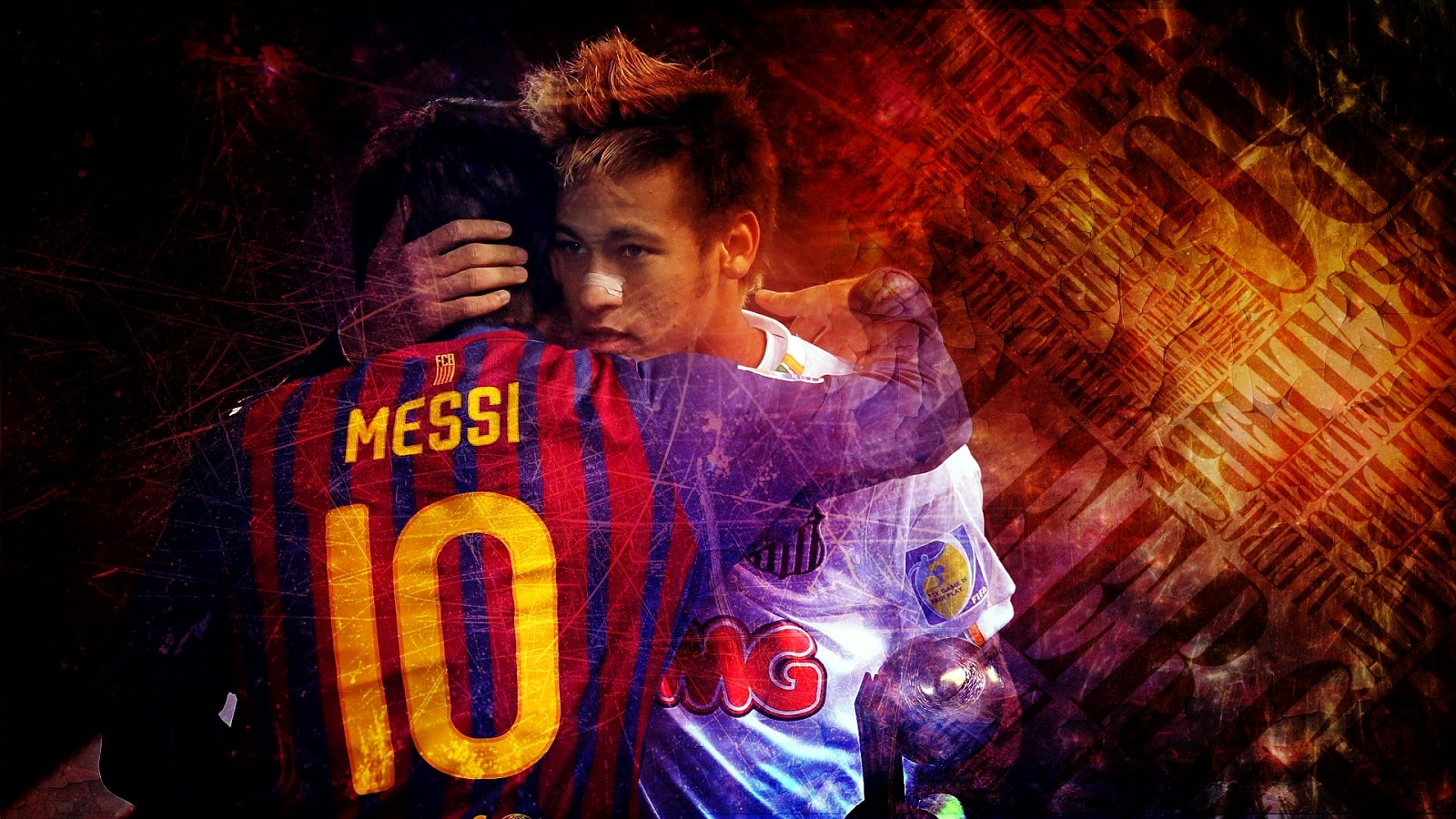 Neymar da Silva Santos Junior Wallpaper wide HD