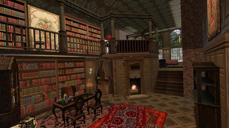 My Sims 3 Blog: Moonlight Falls Huckleberry Lane Alchemists House ...