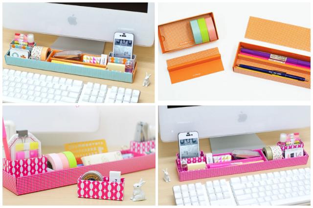 Ideas para organizar mejor nuestro espacio de trabajo - Organizador cajon oficina ...