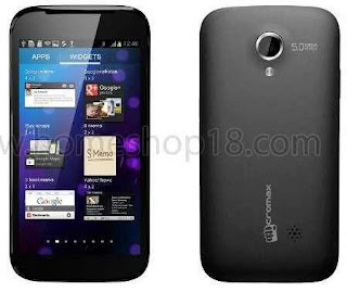 Micromax A100 Dual SIM Android Smartphone