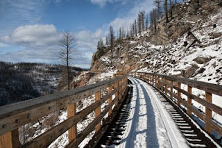 Top Places to Explore in British Columbia, Myra Canyon