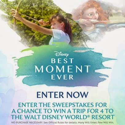 Disney.com's Best Moment Ever Sweepstakes