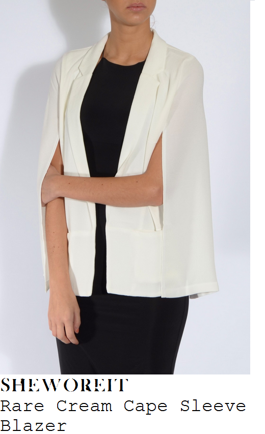 jessica-wright-cream-cape-sleeve-blazer