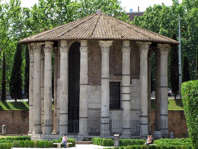 Temple of Hercules Victor, Piazza Bocca della Verità, Rome
