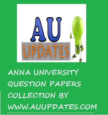 fea anna university question paper