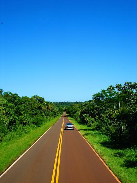 дорога на Игуасу