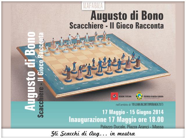 Gli Scacchi di Aug... in mostra a Palazzo Ducale