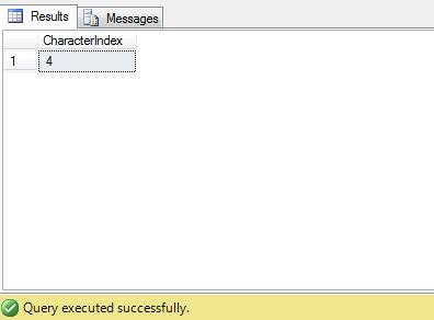 get charindex in sql server