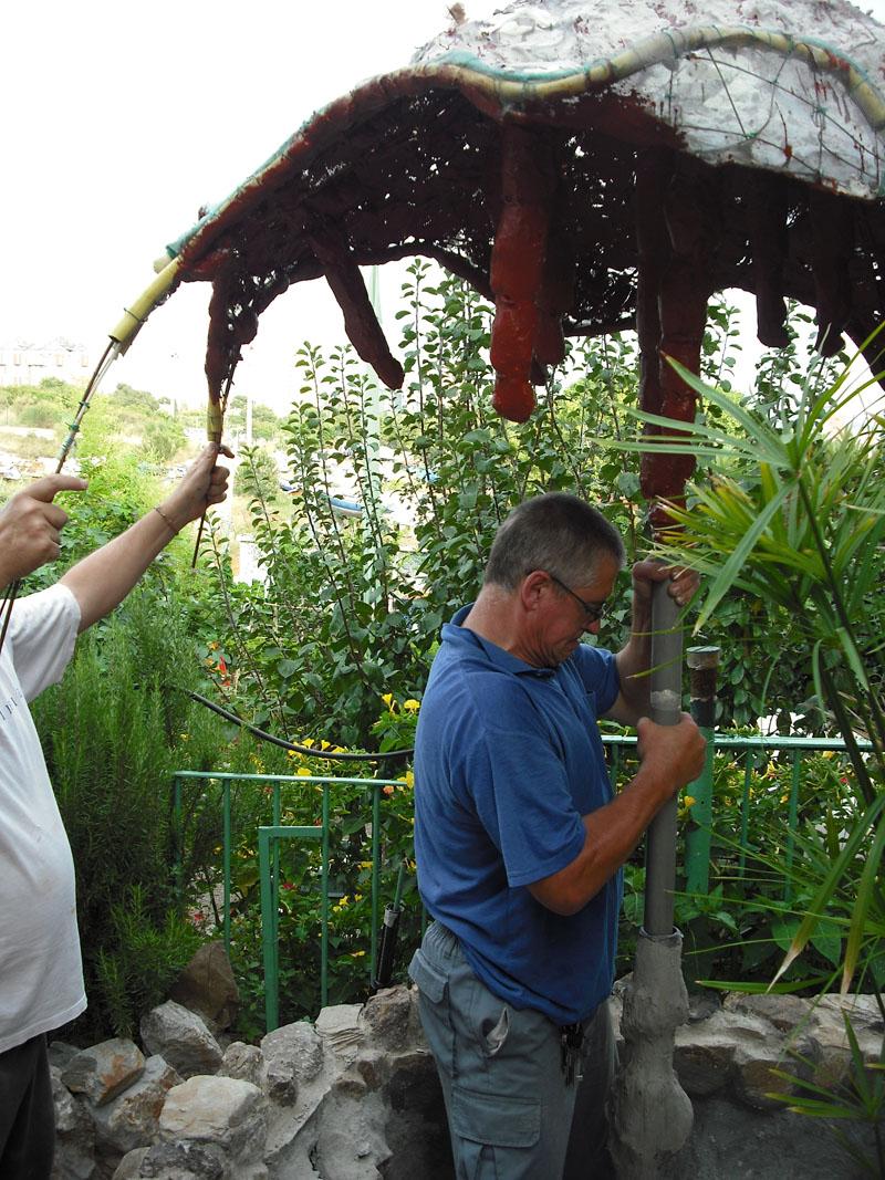 Joan seriny como decorar un estanque en trencad s mosaicos la c pula - Como decorar un estanque ...