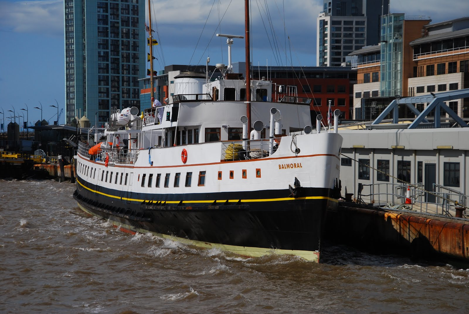 "M/V ""BALMORAL"" returns to service in 2015"