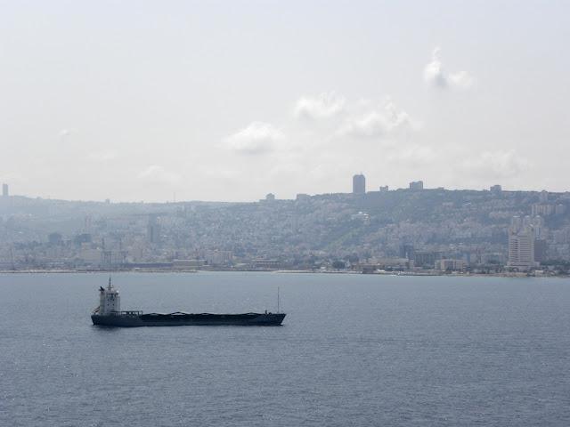 Haifa harbour Israel
