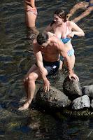 Kelly, Brook, Bikini, Candids, in, Ischia