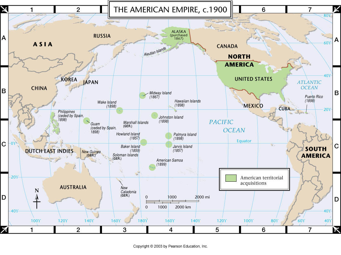 Land Destroyer Whos Behind AsiaPacifics Growing Tensions - Us empire map pacific