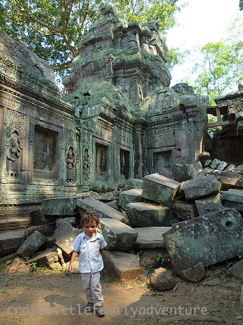 toddler, angkor wat with kids, traveling to cambodia with kids