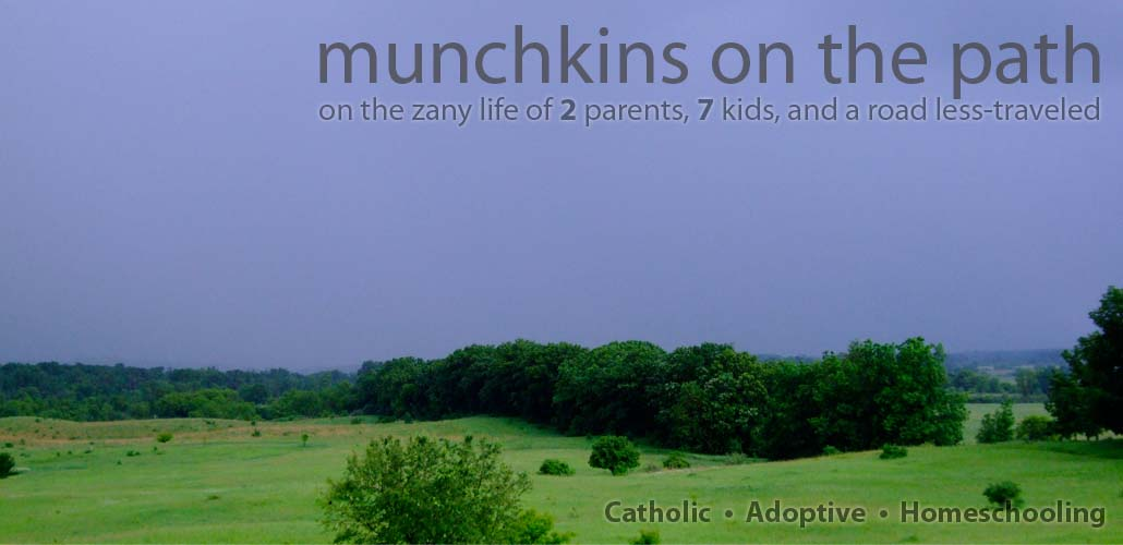 munchkins on the path