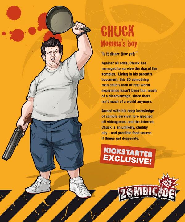 Zombicide personajes CHUCK