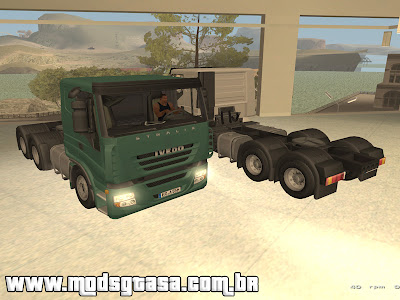 Iveco Stralis AT 6x4 para GTA San Andreas