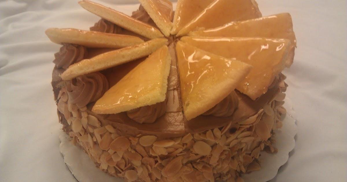 Gretchen Brizendine's LCB Portfolio: Recipe #47: Dobos Torte