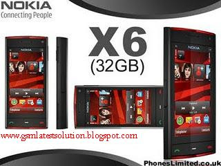 NOKia X6 Hardware Solution 32GB Collection Pack  Nokia+x6+gsm+latest+32gb