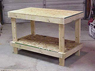 how to build a simple work table