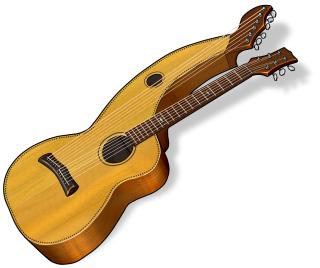 ハープギター harp guitar