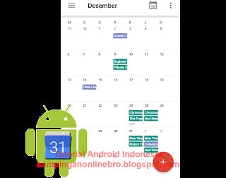 Cara Melihat Dan Menampilkan Hari Libur Nasional Lengkap Di Kalender Android cover