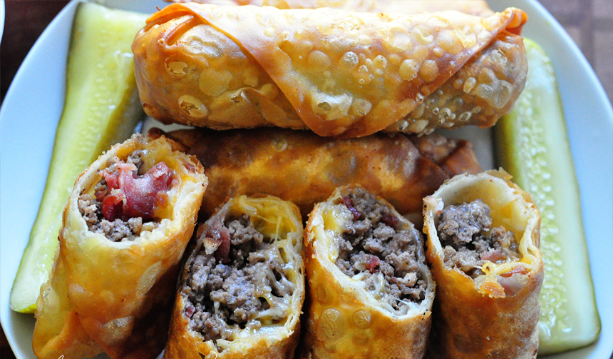 Easy ground beef egg roll recipes