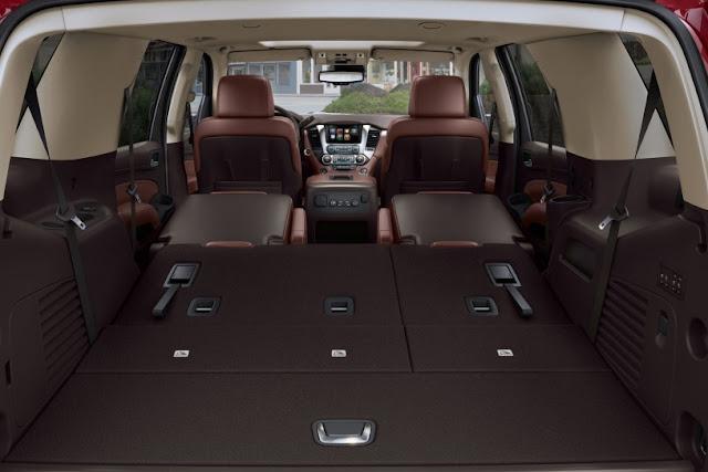 2015 Design Chevrolet Tahoe show back interior view