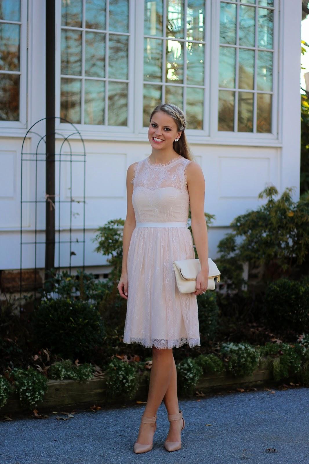 engagement party dress, bridal dress, wedding, bhldn, lace dress, bridal shower dress, bride