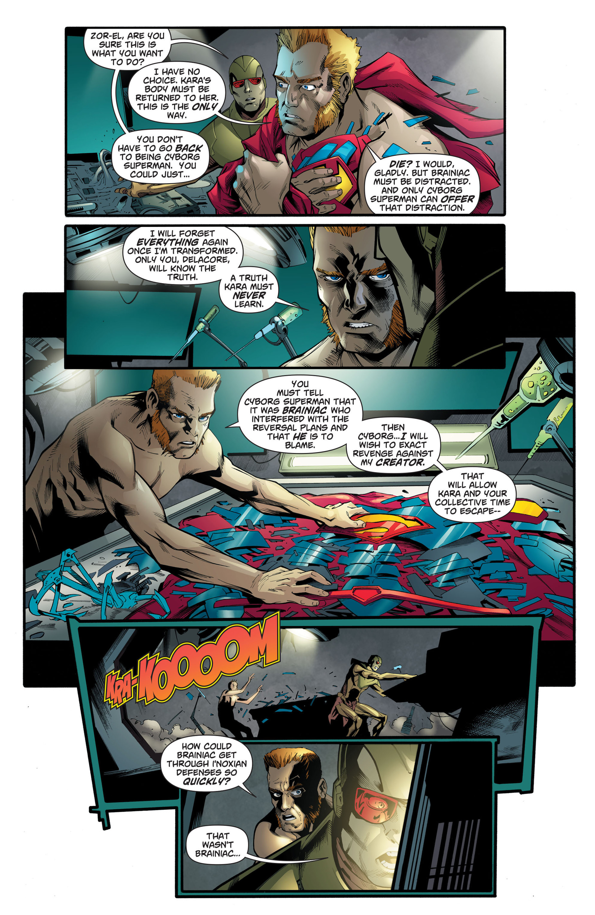 Supergirl (2011) Issue #24 #26 - English 7