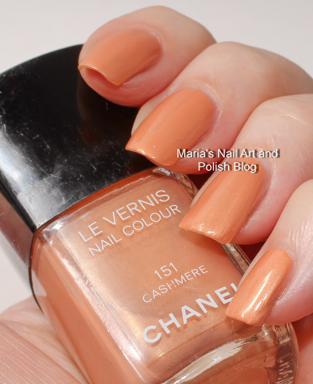 Marias Nail Art and Polish Blog: Chanel Cashmere 151 swatches