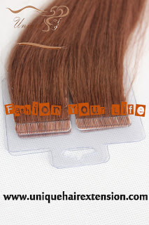 Russian hair weft extensions