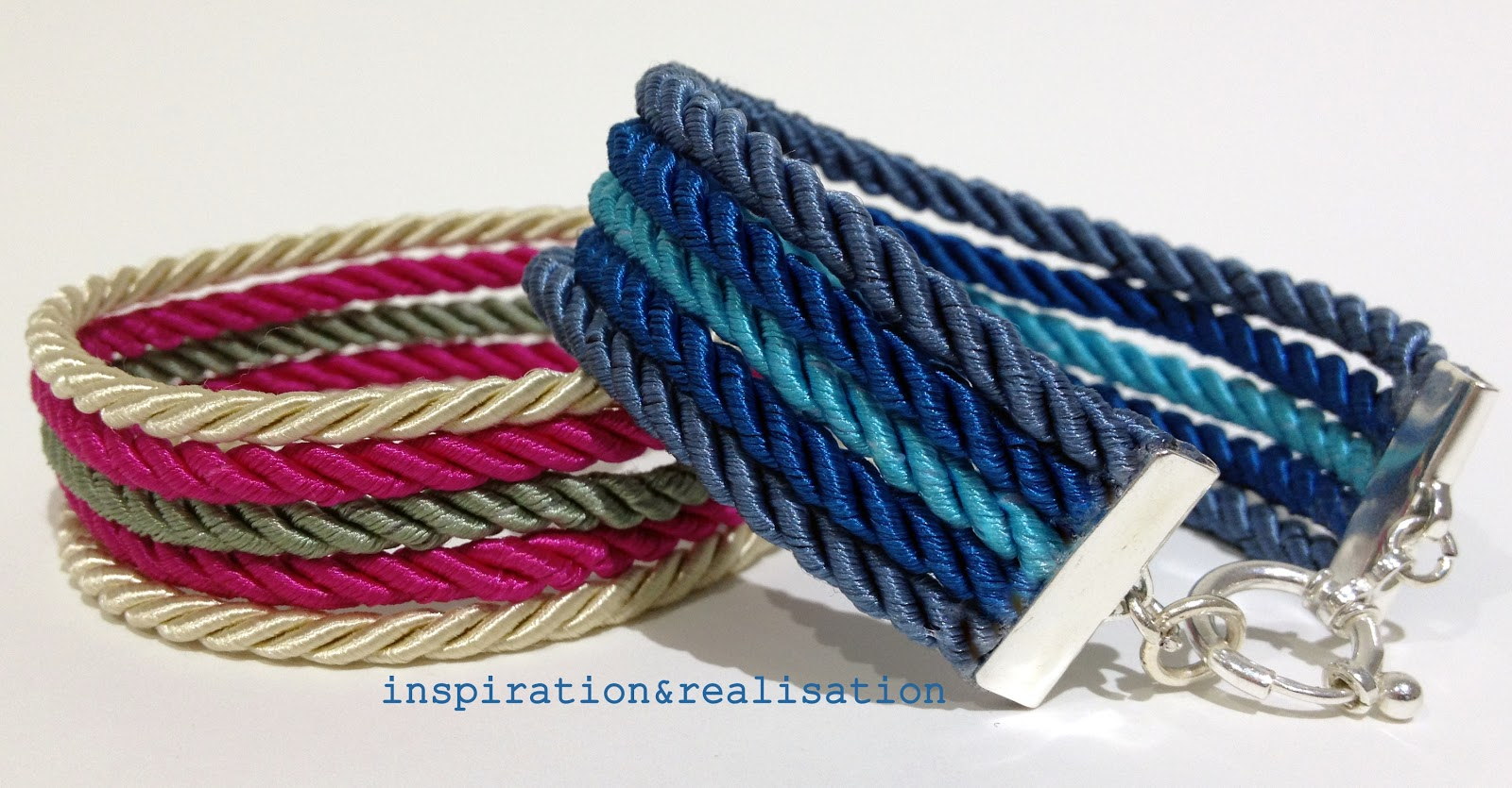How To Make Coiled And Twisted Wire Bracelet Tutorials The | LONG ...