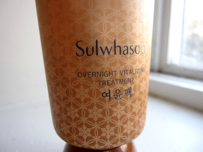 sulwhasoo overnight vitalizing mask review