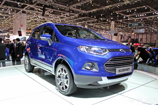 Ford Ecosport at the Geneva Motor Show 2013