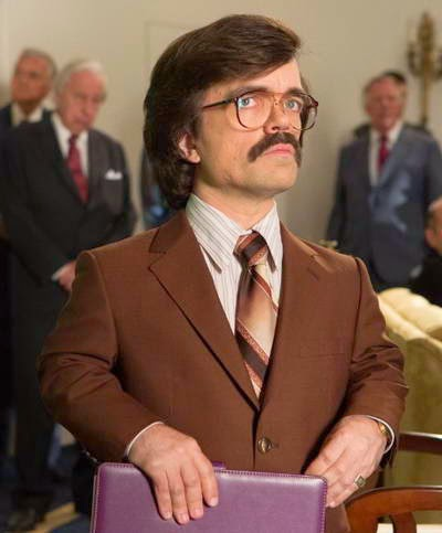 Peter Dinklage as Dr. Bolivar Trask in X-Men Days of Future Past - a review