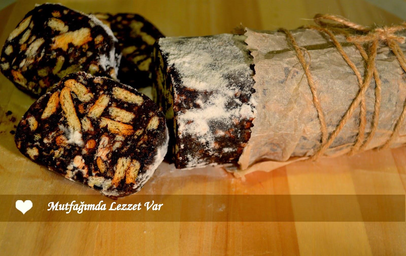 Elmalı Mozaik Pasta Tarifi