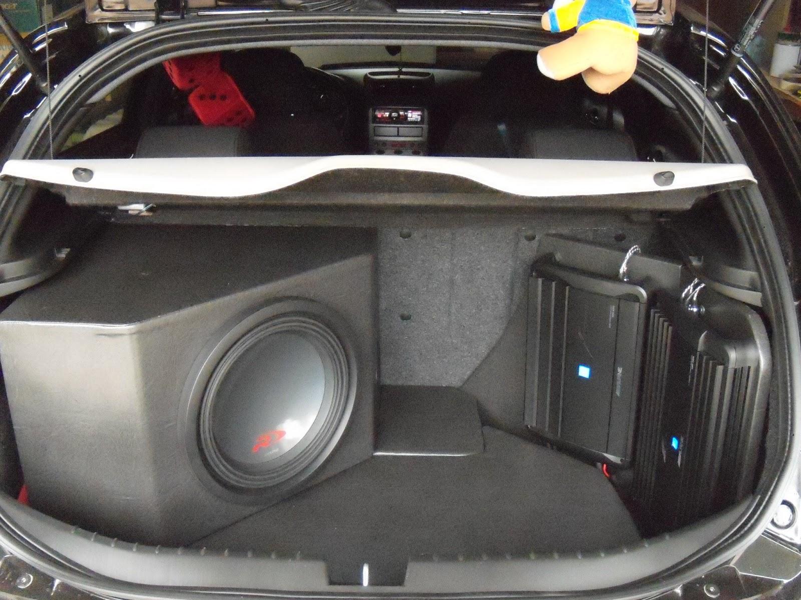 Ketto90 hi fi car progettazione e impostazione baule per l 39 impianto stereo - Impianto stereo per casa ...