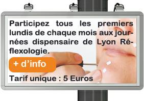 Les journées dispensaire de France Réflexologie