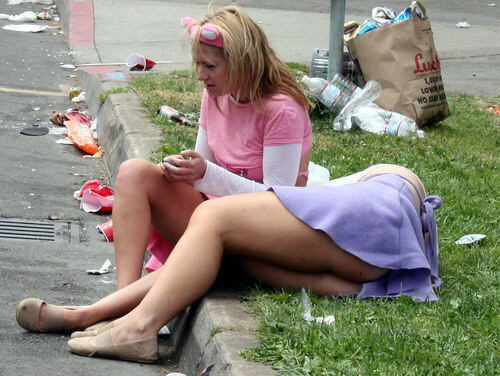 Mujeres borrachas en apuros