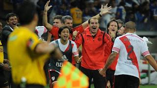 Maidana, gol, cruzeiro, River, River Plate, Copa Libertadores, Libertadores, 2015,