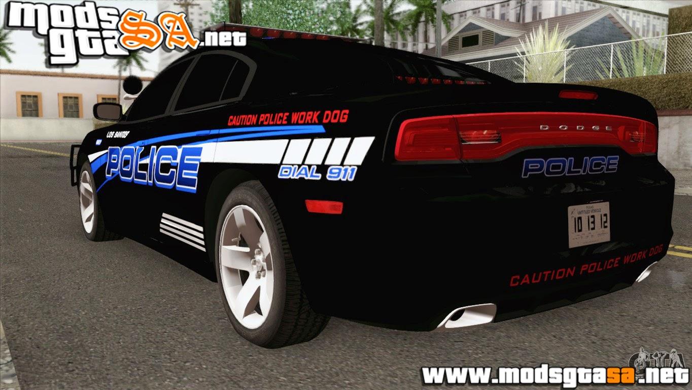 SA - Dodge Charger 2013 LSPD