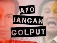 Speech Composing Jokowi dan Prabowo Ayo Jangan Golput