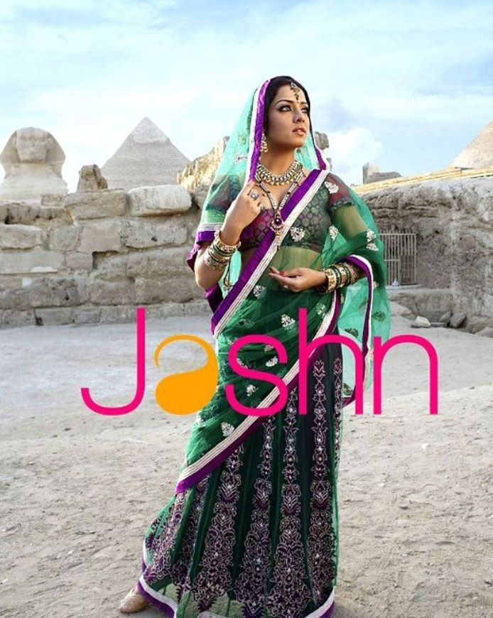Celina Jaitley Jashn Saree Collection