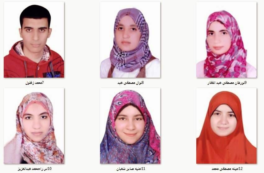 ننشر صور وأسماء أوائل شهادة الثانوية الأزهرية