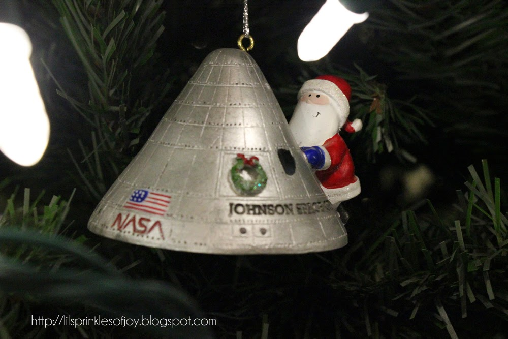My oldest son loved visiting the Johnson Space Center in Houston and he was  truly disappointed when we told him that the space shuttles would no longer  be ... - Lil' Sprinkles Of Joy: The Story Behind Our Christmas Tree Ornaments....