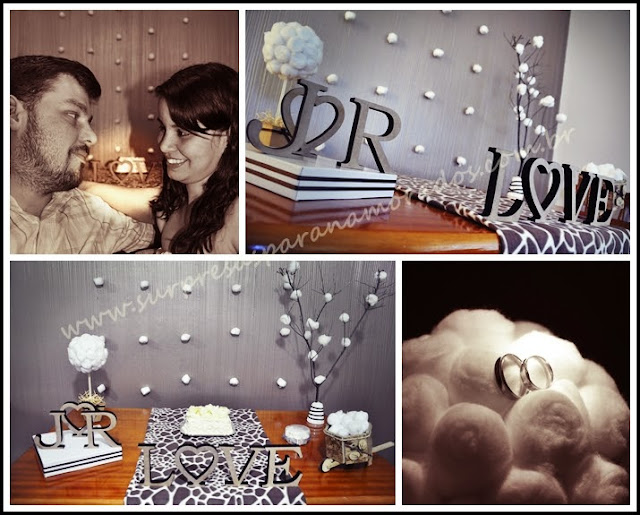 bodas de algodão 2 anos de casados