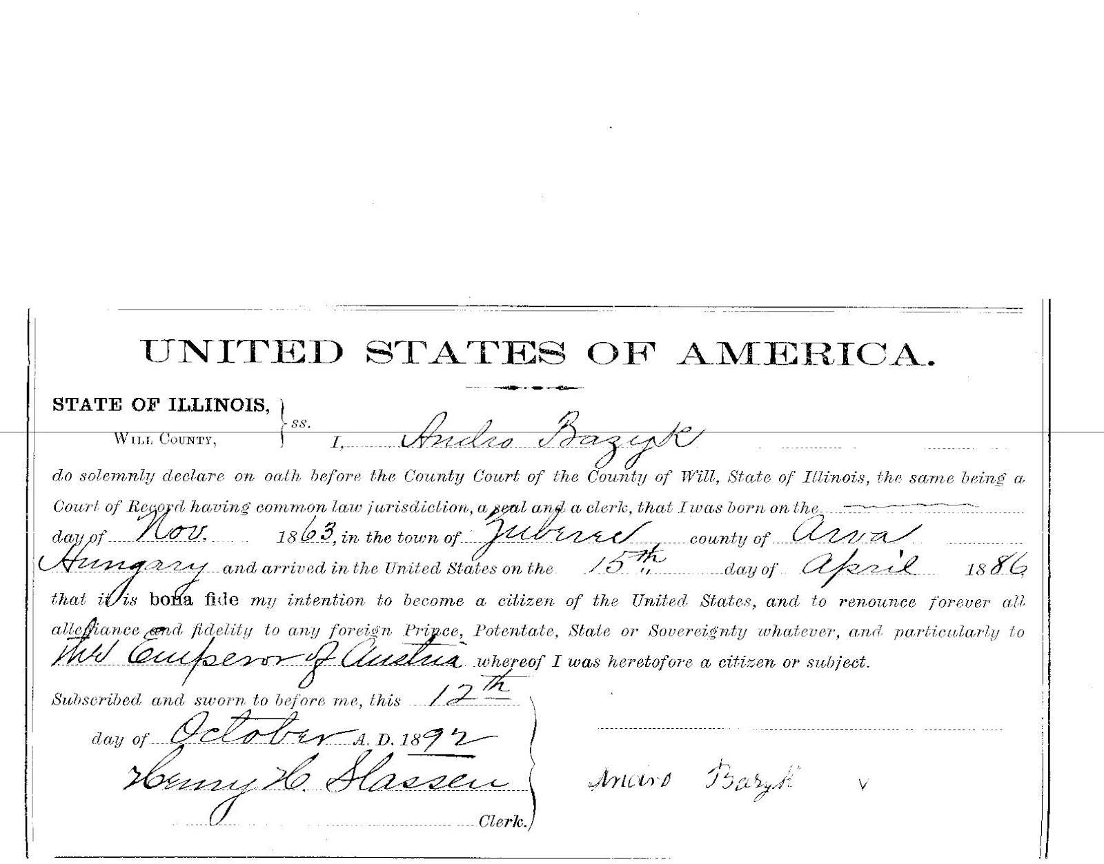 Joliet genealogy 2012 margarets husband had naturalized on october 03 1866 in grundy county illinois they had married october 26 1865 in syracuse ny aiddatafo Gallery